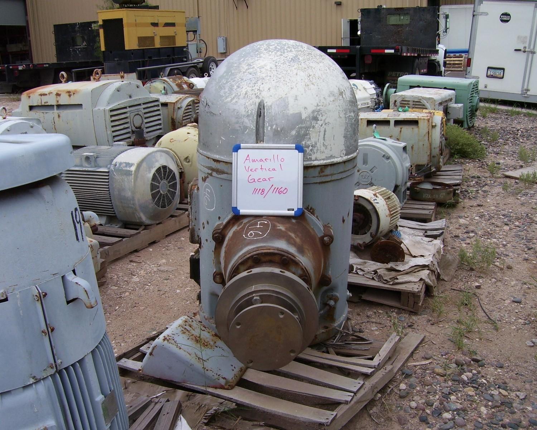 Amarillo Vertical Gearbox